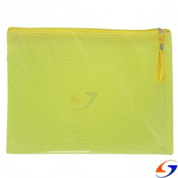SOBRE PLASTICO CON CIERRE PVC REFORZADO A4 TIPO SOBRE