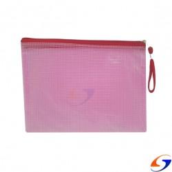 SOBRE PLASTICO CON CIERRE PVC REFORZADO A5 TIPO SOBRE