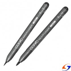 MARCADOR COPIC MULTILINER BRUSH PAPELERIA