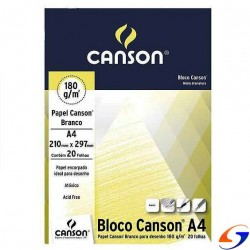 BLOCK DIBUJO CANSON ESTUDIANTE 180GR. A4 BLOCKS