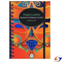 AGENDA PAULO COELHO CON ESPIRAL 2021 AGENDAS