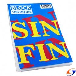 BLOCK SIN FIN LISO Nº2 13X20CM. PAPELERIA