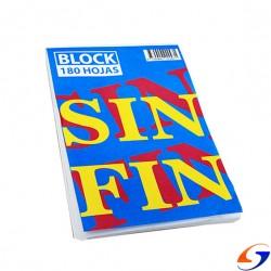 BLOCK SIN FIN LISO Nº1 11X13CM. PAPELERIA