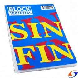 BLOCK SIN FIN LISO Nº3 22X32CM. PAPELERIA