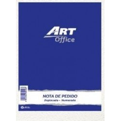 FORMULARIO NOTA DE PEDIDO DUPLICADA ART OFFICE