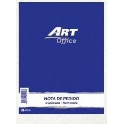 FORMULARIOS NOTA DE PEDIDO DUPLICADA ART OFFICE