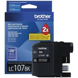 CARTUCHO BROTHER ORIGINAL LC-107 NEGRO CARTUCHOS BROTHER
