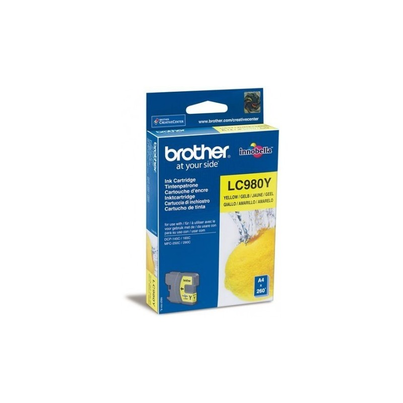 CARTUCHO ORIGINAL BROTHER LC-980 COLOR BROTHER