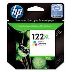 CARTUCHO HP ORIGINAL (122 XL) CH564HL COLOR ORIGINALES