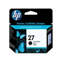 CARTUCHO HP ORIGINAL (27) C8727AL NEGRO HP