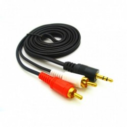 CABLE AUDIO 3MTS. CABLES Y ADAPTADORES