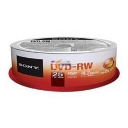 DVD RW SONY BULL X 25 SONY