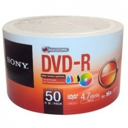DVD-R SONY BULL X 50 COMPUTACION