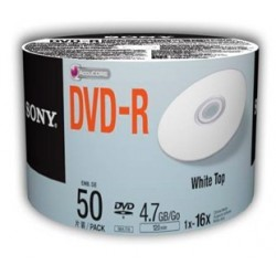 DVD-R SONY IMPRIMIBLE BULL X 50 SONY