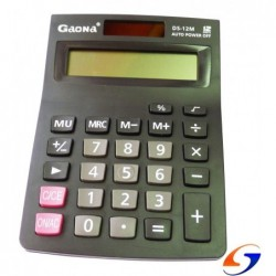 CALCULADORA GAONA 12 DIGITOS DELI