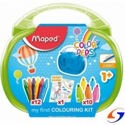 MALETIN ESCOLAR MAPED COLOURING KIT ESTUCHES