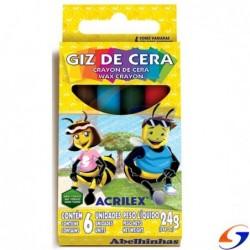 CRAYOLAS ACRILEX JUMBO GRUESAS X6 CRAYOLAS