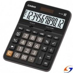 CALCULADORA DE ESCRITORIO CASIO DX12 CALCULADORAS