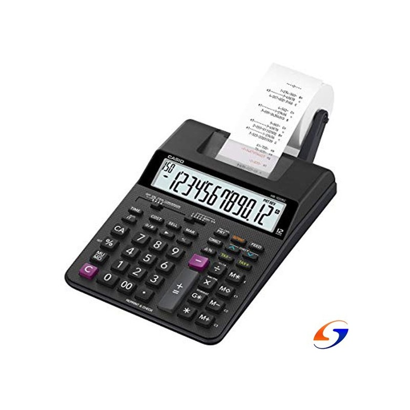 CALCULADORA CASIO CON ROLLO HR100RC CASIO