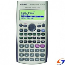 CALCULADORA CASIO FINANCIERA FC100 CALCULADORAS