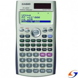 CALCULADORA CASIO FINANCIERA FC200 CALCULADORAS