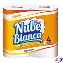 HIGIENICO NUBE BLANCA 30MTS. X48 ROLLOS NUBE BLANCA