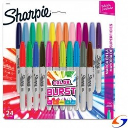 MARCADORES SHARPIE COLOR BURST X24 SHARPIE