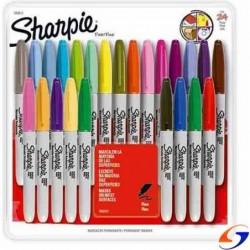 MARCADORES SHARPIE X24 CON MANDALAS SHARPIE