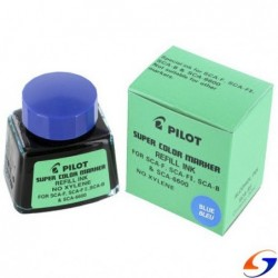 TINTA PERMANENTE PILOT FRASCO 30 ML. TINTAS