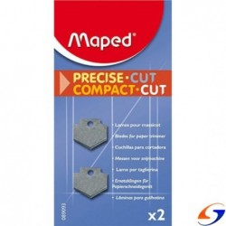 CUCHILLA REPUESTO GUILLOTINA MAPED COMPACT CUT X 2 MAPED