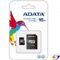 MEMORIA SD ADATA 16 GB. CLASE 10 MEMORIAS