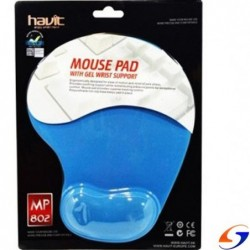 PAD MOUSE HAVIT GEL CON APOYA MUÑECA MOUSE