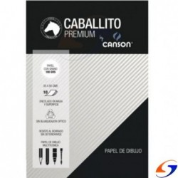 BLOCK DIBUJO CANSON CABALLITO 1/2 WATMAN