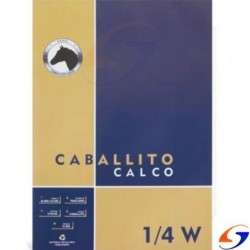 BLOCK CALCO CABALLITO 1/4 WATMAN TABARE