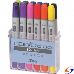 MARCADORES COPIC CIAO X12