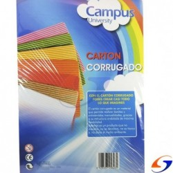 CARTON CORRUGADO A4 X6 PAPELES Y HOJAS