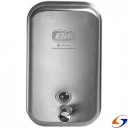 DISPENSADOR JABON ELITE METAL INOX ELITE