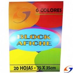 BLOCK AFICHE SERVICIOPAPELERO 25X35CM. BLOCKS