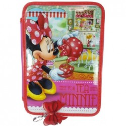 CARTUCHERA MINNIE PVC 2PISOS PAPELERIA