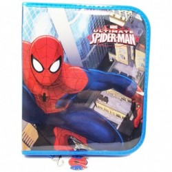 CARTUCHERA SPYDERMAN PVC 1PISO