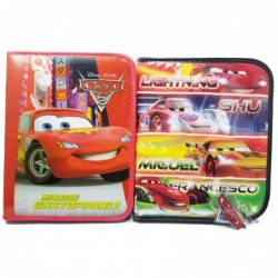 CARTUCHERA CARS PVC 1PISO