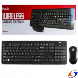 TECLADO HAVIT COMBO INALAMBRICO KB655 HAVIT