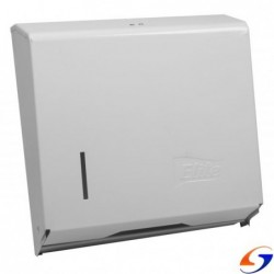 DISPENSADOR TOALLAS PLEGADAS ELITE METAL BLANCO ELITE