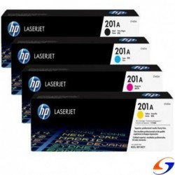 TONER HP ORIGINAL 201A COLOR ORIGINALES