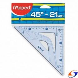 ESCUADRA MAPED GRAPHIC 21CM. 45º O 60º MAPED