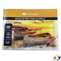 BLOCK DIBUJO ACUARELA PRESTIGE 25x35CM.