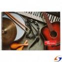 CUADERNO PAPIROS MUSICA CON ESPIRAL 40 H. PAPIROS