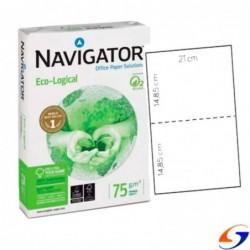 HOJAS NAVIGATOR A4 TROQUELADO AL 1/2 X500 DISCOVERY