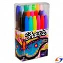 MARCADORES SHARPIE PERMANENTE X21 SHARPIE