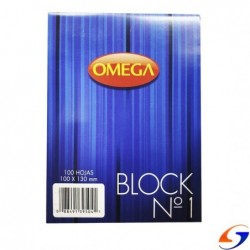 BLOCK LISO OMEGA 10X13CM.